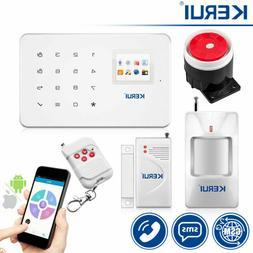 KERUI G18 Wireless GSM home security alarm system kit contro