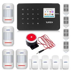 KERUI G18 Wireless Home Security Alarm System with 4 PIR Det