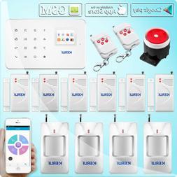 KERUI G18 Wireless SMS GSM Home Alarm Security Burglar Intru