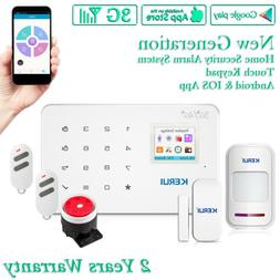KERUI G183 White GSM Wireless 3G Home Security Alarm System