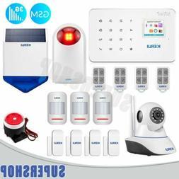 KERUI Smart New G183 Wireless 3G GSM Security Alarm System L