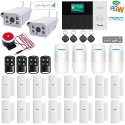 O88 WiFi GSM APP RFID Wireless Home Security Alarm System+2