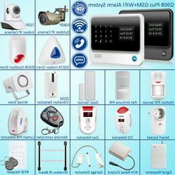 G90B Plus WiFi GSM SMS Wireless Home Alarm Security System A