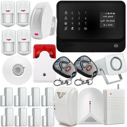 G90B WIFI GSM GPRS Wireless Home House Fire alarm system IOS