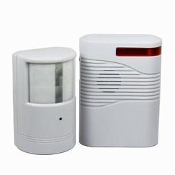 Garage Front Door Driveway Motion Sensor Alarm Infrared Wire