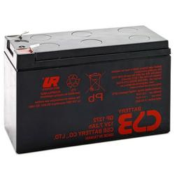 CSB GP1272 F1 12V / 7.2 AH Home Alarm Battery