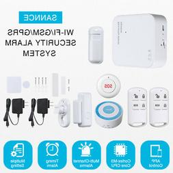 SANNCE GSM Home Burglar Security Alarm System Wireless Acces