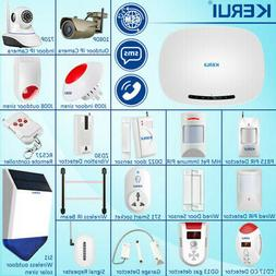 KERUI GSM SMS Autodial Security Alarm System Wireless Sensor