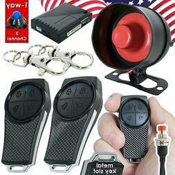 Gravity GSX 1 Way 3 Channel Keyless Entry Car Alarm Security