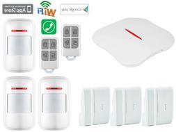 H40 KERUI W1 IP WiFi Cloud PSTN Wireless Kits Home Security
