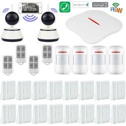 H50 KERUI APP WiFi PSTN Wireless Home Security Alarm Burglar