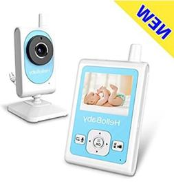 HelloBaby Wireless Video Baby Monitor with Motion Detection