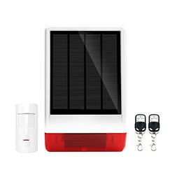 ERAY JD-W06 Home Burglar Security Alarm Siren Solar Powered