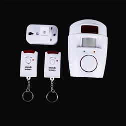 Home Alert 2 Remote Control Wireless Security Detector Alarm