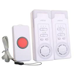 Home Safety Alarm Pager Emergency Call Button Personal Syste