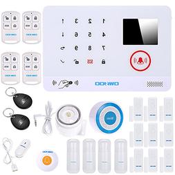 OWSOO Home Wireless Alarm Security 433MHz Wireless Auto-dial