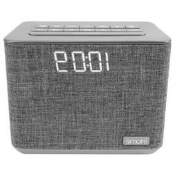 iHome iBT232 Bluetooth Dual Alarm FM Clock Radio with Speake