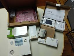 Interlogix Simon alarm system package, mostly new