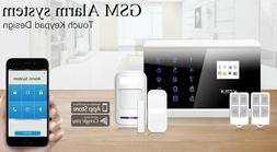 iOS Android APP Wireless GSM and PSTN SMS Home House Alarm S