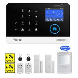 JC Wireless 2G & WIFI Security Alarm System, RFID Burglar Se