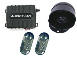 K9 K9150DLA Car Alarm Vehicle Security System with 8 Program