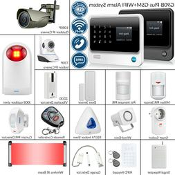 KERUI G90B Plus WiFi GSM SMS Wireless Home Alarm Security Sy
