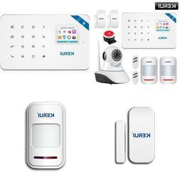 Kerui W18 Wireless Wifi Gsm Alarm System Android Ios App Con