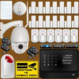 Kit Zoom Lens 1080P 2MP IP Camera WiFi GSM SMS Wireless Wire