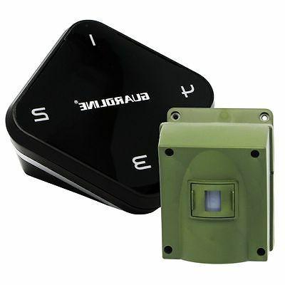 1/4 Mile Long Range Wireless Driveway Alarm w/ Lifetime Warr
