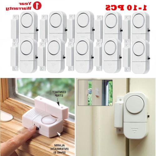 10 pcs magnetic wireless window door entry