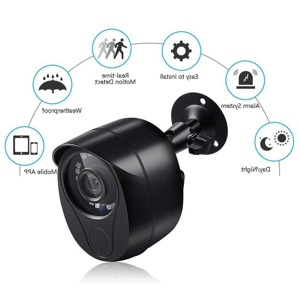 anni 1080P with 3x Siren Alarm Camera Home Security