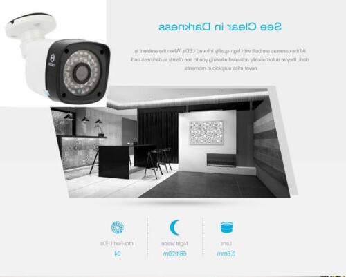 1080P NVR Outdoor Camera Alarm