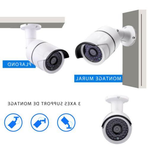 Wireless 1080P WIFI Camera System Alarm