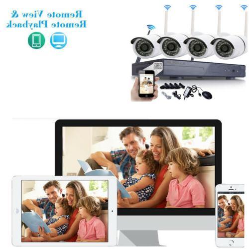 WIFI IR Camera System Alarm