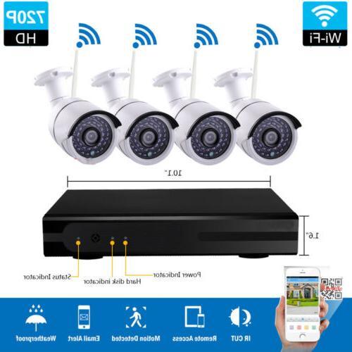 1080p hd 4ch wireless cctv nvr ir