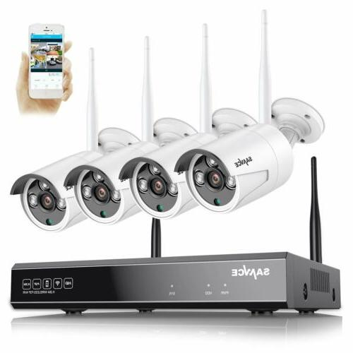 1080p hd 8ch nvr wireless security system