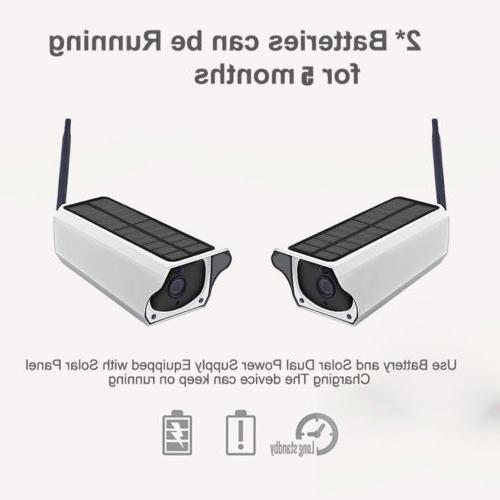 1080P Security Camera Wireless Solar Video System