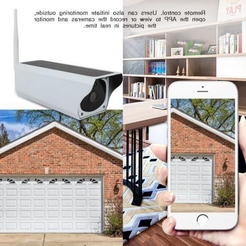 1080P HD Camera Wireless Remote Solar WIFI System