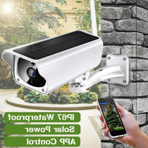 1080P HD Security IP Camera Wireless Monito Solar WIFI System