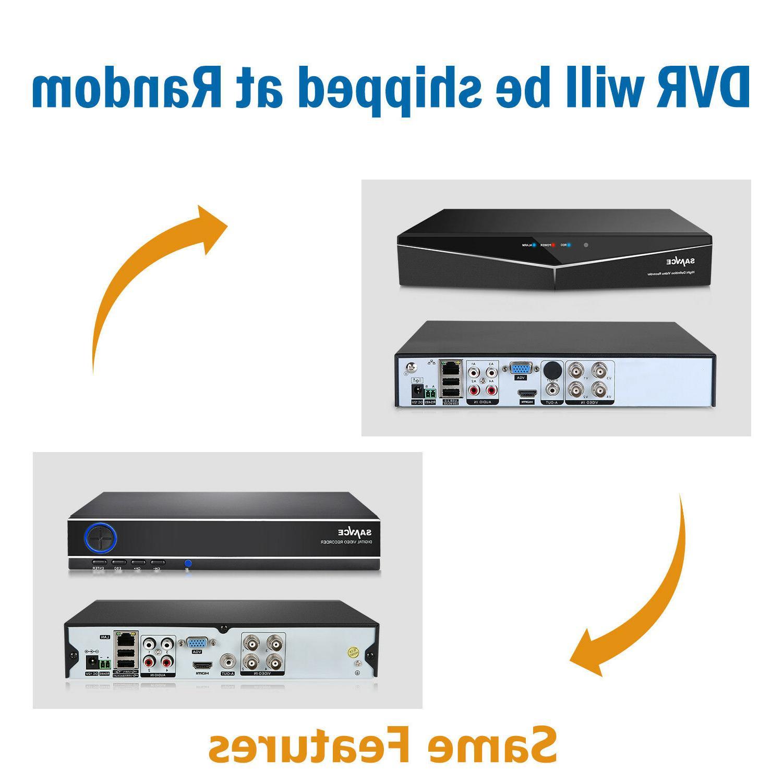 SANNCE 1080P HDMI 8CH/4CH DVR IR System