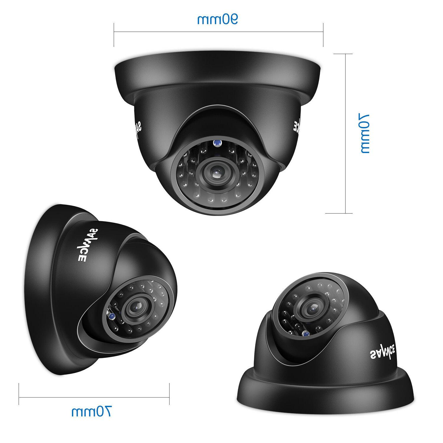 SANNCE 8CH/4CH 720P IR Home Security System