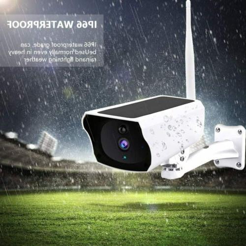 Security Camera Wireless Remote Monitoring Solar Video1080P