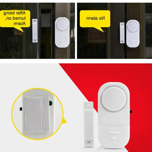 10PCS Window Door Burglar System Magnetic
