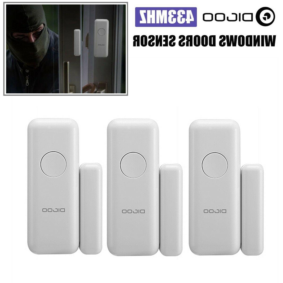 10X Window Door Burglar ALARM Magneti Sensor
