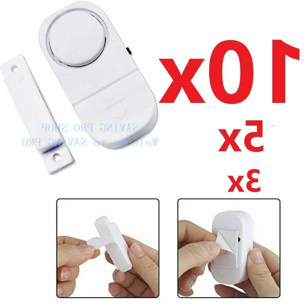10x wireless home window door burglar security
