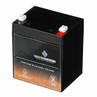 12V 4AH Home Alarm Security System SLA Battery