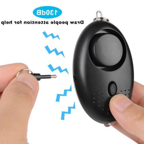 130dB Alarm Keychain Emergency System SOS Distress Call Tool