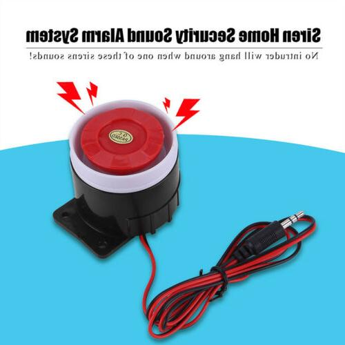 New Wired Mini Horn Siren Home Security Sound Alarm System 1