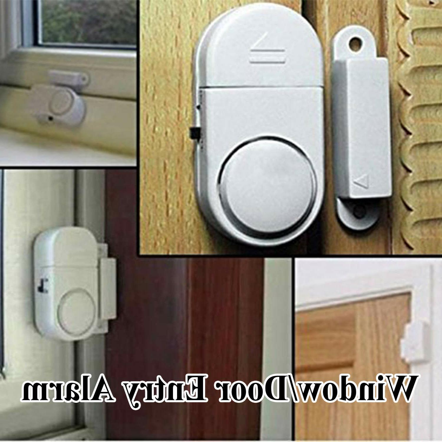 2-10 PC WIRELESS DOOR AND WINDOW ALARM BATTERY HOME SYSTEM SWITCH