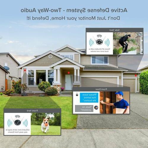 2 Pack EZVIZ 1080p HD WiFi Activated Alarm Security System